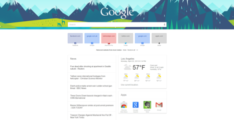 Google-Now-page-chrome